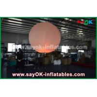 Wholesale Nylon Cloth Inflatable Lighting Decoration / Halogen Or Led Light Up Balloons from china suppliers