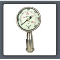 Wholesale Anti-vibration pressure gauge with axial installation from china suppliers
