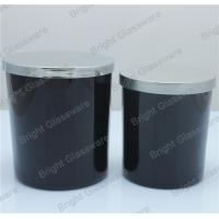 Buy cheap black candle holder with silver lid for wholesale from wholesalers
