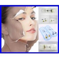 China Injectable Cross linked hyaluronic dermal filler HA Gel for anti wrinkle FINELINES 1.0ML on sale