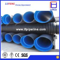Wholesale High Grade Double-wall Corrugated HDPE Pipe for Sewage Plant from china suppliers