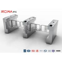 Wholesale RFID Card Automatic Access Control Turnstile Gate Stainless Steel For Park / Musem from china suppliers