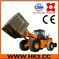 Buy cheap forklift loader lift equipment with track,mermer machinery from wholesalers