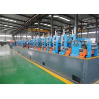 Buy cheap High Performance Carbon Steel ERW Pipe Mill , Steel Pipe Manufacturing Machine from wholesalers