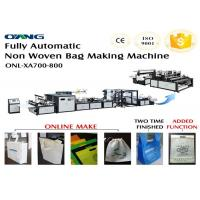 Wholesale 700 Model Automated Non Woven Bags Making Machine CE ISO Approval from china suppliers