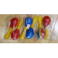 Wholesale Plastic Toy Music Instrument , Cute Colored Orff Plastic Maracas from china suppliers