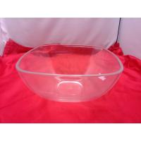 Wholesale Food-grade Square Clear Acrylic Bowl For Salad / Fruit 230 by 110mm from china suppliers