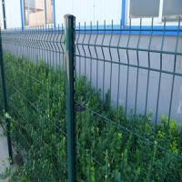 Wholesale Green RAL6005 Weld Wire Mesh Decorative Fencing Designs for Public from china suppliers