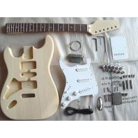 Wholesale Unfinished Fender ST DIY Electric Guitar Kits Left Handed Guitar AG-ST2-L from china suppliers