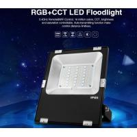Buy cheap Milight Wifi IP65 30W RGB+CCT LED Floodlight 2.4G RGB and Dual white CCT change 3000k 6000k LED light with IOS APP from wholesalers