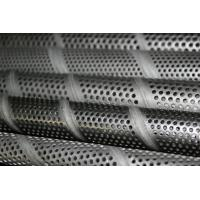Wholesale Polished stainless Perforated Metal Tube / steel wire Mesh tubing decorative from china suppliers