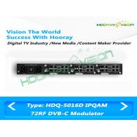 Wholesale All In One DVB C 72 Digital Channel Modulator CATV Slot Card Support 512 IP Input 24 Carriers Output from china suppliers