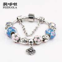 Wholesale lastest DIY women fashion charm bead bracelet fit pandora women fashion charm bead bracelet  Bracelet from china suppliers
