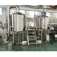 Wholesale 600L Brewery Plant Manual Micro Brewing Equipment With Wort Detecting Station from china suppliers