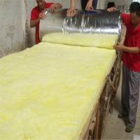 Quality Heat insulation glass wool blanket with Aluminium foil for sale