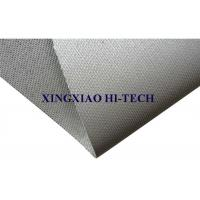 Wholesale Grey Silicone Rubber Coated Fiberglass Cloth , Silicone Impregnated Fabric from china suppliers