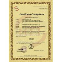Shenzhen Sky Electronics Manufactory Certifications