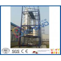 Wholesale Falling Film Evaporation Multi Stage Evaporator / Triple Effect Evaporator System from china suppliers