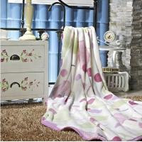 Wholesale White Polar Fleece Warm Polyester Throw Blanket Lace Trim For Adults from china suppliers