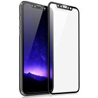 Buy cheap 2.5D  Full Coverage AB Glue Silk-printing Frame Cell Phone Screen Protector for iPhone8 from wholesalers