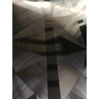 Wholesale New Designs 304 316 Brush Hairline No.4 Parts Stainless Steel Sheet For Hotel Decoration Project from china suppliers