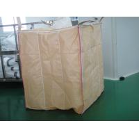 Wholesale PE Liner Beige baffle Flexible FIBC jumbo bags for packaging starch powder from china suppliers