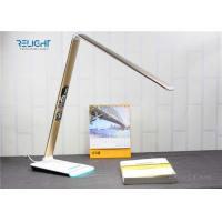 Wholesale Eye Protected Foldable LED Desk Lamp with Brightness Touch Dimmer and Negative Show LCD Screen from china suppliers