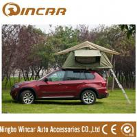 Wholesale 260g/280g Outdoor Custom Roof Top Tent For Car / Jeep With Canvas Fabric Double Layers from china suppliers