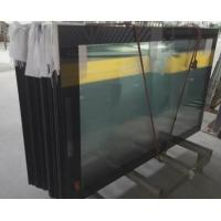 Wholesale Ultra Clear 5mm Low Iron Printed Glass with Black Boarder RAL9005 Toughened Glass Panels from china suppliers
