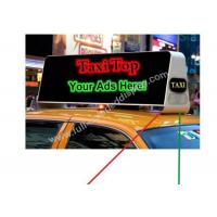 Wholesale Long Time Warranty LED Taxi Sign  With Usb Wifi 3G 600Hz~2000Hz from china suppliers