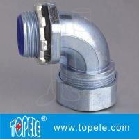 Wholesale Liquid tight Flexible Conduit And Fittings steelConnector 90 Degree Angle from china suppliers