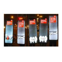 Wholesale Solar Rectangle LED Advertising Light Box , LED Acrylic Walking Billboards With Battery from china suppliers