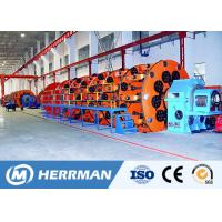 Wholesale 400~630mm Bobbin Size Cable Stranding Machine Planetary Steel Wire Armouring Machine from china suppliers
