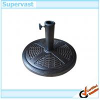 Wholesale Resin Wicker PPatio Umbrellas Bases Outdoor Furniture Rattan Sun Umbrella Stand from china suppliers