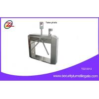 Wholesale CCTV Camera Access Control Tripod Turnstile Gate With Mini Computer , Semi Automatic from china suppliers