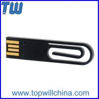 Wholesale Mini Portable Paper Clip Usb Flash Memory 8GB 16GB Stroage for Business Promotion from china suppliers