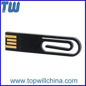 Mini Portable Paper Clip Usb Flash Memory 8GB 16GB Stroage for Business Promotion