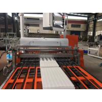 Quality PP  HEPA Mini Pleating and Gluing Machine , Pleating Height 20mm - 100mm for sale