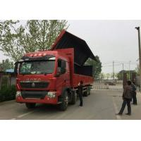 Quality SINOTRUK HOWO T5G Wing Van Cargo Truck 8X4 12 Wheels LHD MAN Engine Euro4 336HP for sale
