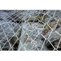 Wholesale High quality galvanized steel wire mesh Rockfall Mesh Slope Stabilization System from china suppliers