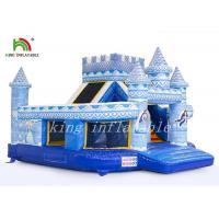 Wholesale Durable PVC Palace Castle Inflatable Jumping Castle Combo Slide Digital Printed from china suppliers