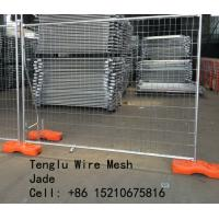 Wholesale Hot Dipped Galvanized Welded Wire Mesh Temporary Fence 50X50, 60X60, 75X75, 50X150, 60X150, 75X150 from china suppliers