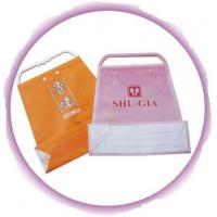 Wholesale Customized Clothing Plastic Handle Bag Promotion Shopping Bags from china suppliers
