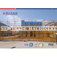 Wholesale SGS Paint Spraying Ring Lock Scaffolding , Steel Construction Scaffold from china suppliers