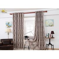 Wholesale Colorfast Decorative Jacquard Window Curtains With Embossed Pattern from china suppliers