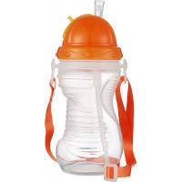 Wholesale Customized Plastic Baby Milk Water Feeding Bottle With Straw Cap from china suppliers
