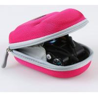 Wholesale Portable Leather Camera Pouches With Hand Belt , EVA Pink Camera Bag from china suppliers