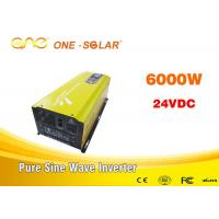 Wholesale Off Grid Inverter Single Output UPS Pure Sine Power Inverter6000w from china suppliers