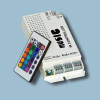 Wholesale 120W / DC 12V / 10A Music Sound RGB LED Controllers for Strip Light, indoor local light from china suppliers