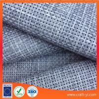 Wholesale gray and light gray color mix Textilene material mesh fabric 4X4 woven  fabrics from china suppliers